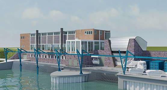 Pumping station Katwijk, Netherlands