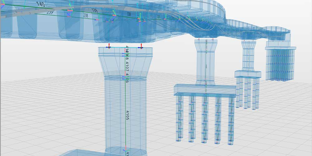 Allplan Bridge is a groundbreaking solution for 4D parametric modeling and structural analysis of bridges.
