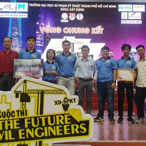 """Cuộc thi """"THE FUTURE CIVIL ENGINEERS"""""""