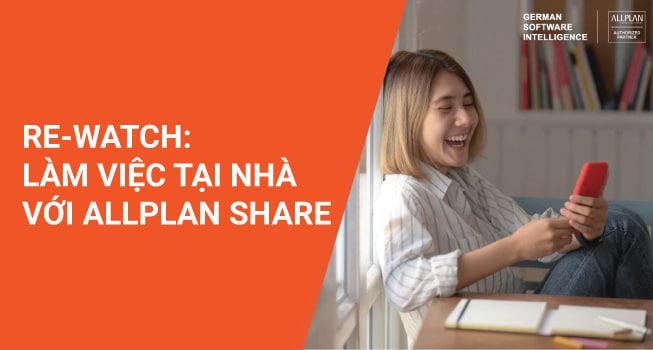 Làm việc tại nhà với Allplan Share