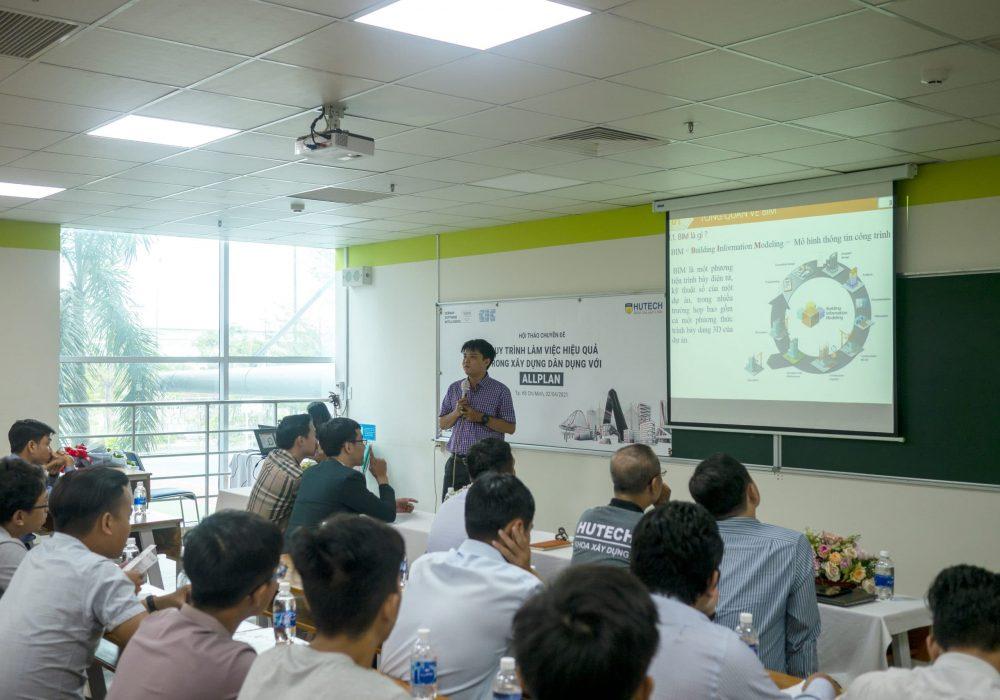 Tiến Sĩ Nguyễn Sơn Lâm – Giảng Viên  khoa Xây Dựng chia sẻ về Xu Hướng Tiêu Chuẩn Hóa BIM